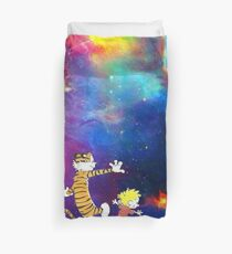 Calvin and Hobbes Nebula Duvet Cover