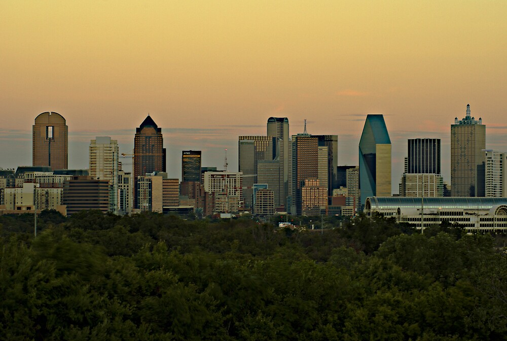 Dallas Sunset HDR by Marc Payne Photography