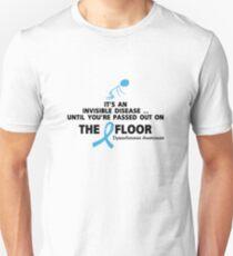 Dysautonomia Awareness It's an invisible disease T-Shirt