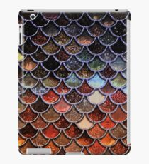 Warm and Cosy Brown Ombre Sparkle Faux Glitter Mermaid Scales iPad Case/Skin