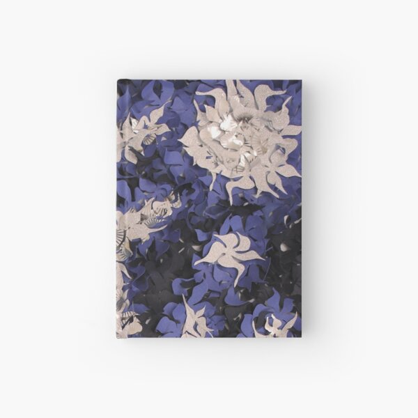 Midnight flowers Hardcover Journal