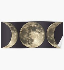 The triple moon Poster