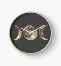 The triple moon Clock