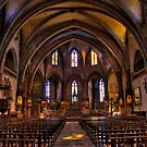 Mirepoix Cathederal Interior by antonywilliams