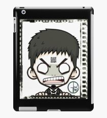 Pint-sized Rage black and white iPad Case/Skin