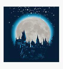 Hogwarts's Castle Photographic Print