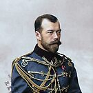 Tsar Nicholas II, last Russian emperor (1894–1917) by Marina Amaral