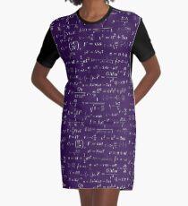 Physics - purple Graphic T-Shirt Dress