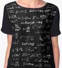 Physics - handwritten Chiffon Top