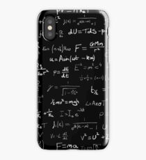 Physics - handwritten iPhone Case/Skin