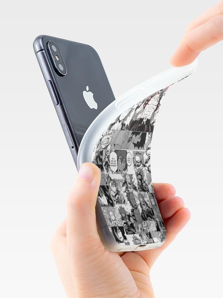 Vista alternativa de Vinilos y fundas para iPhone Red Riot: Héroe de corazón viril