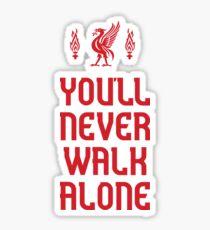 Liverpool FC - You'll Never Walk Alone Sticker