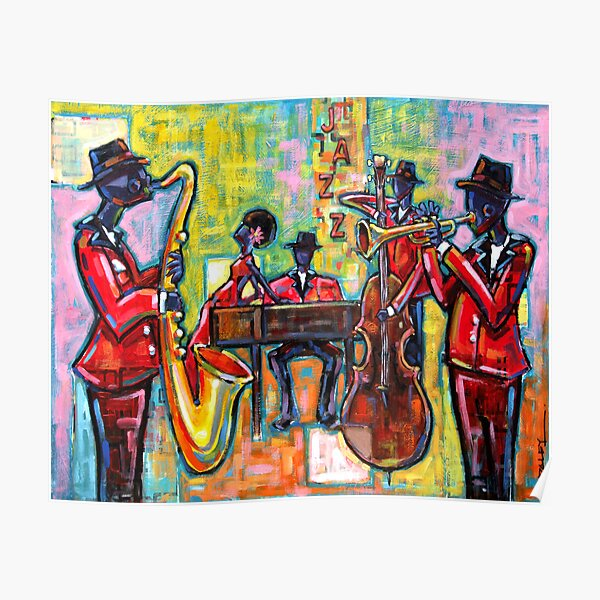 Groupe de jazz Poster