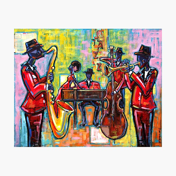 Jazz Band Photographic Print