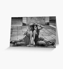 Models Greeting Card