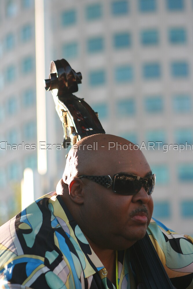 Ralphe Armstrong - Epitome of Cool by Charles Ezra Ferrell - PhotoARTgraphy