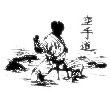Karate Kuro Obi [LIGHT] by Rheymisson