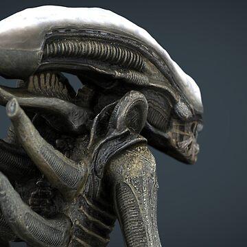 Alien Xenomon by mydesignontrack