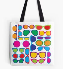 Eyeglasses Pattern Tote Bag