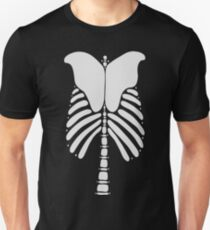 Skeleton Back Vector Art T-Shirt