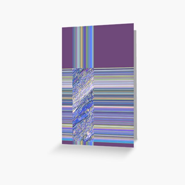 Purple Rainbow Greeting Card