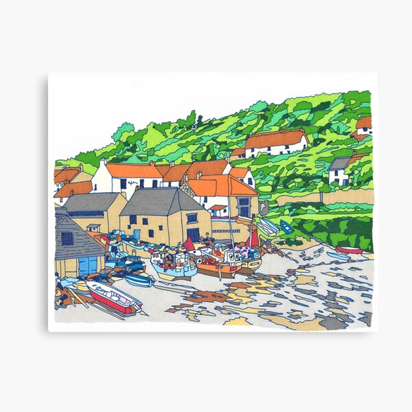 Cadgwith Harbour Canvas Print