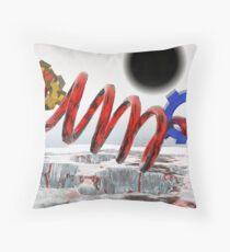 """God"" Particle? Throw Pillow"