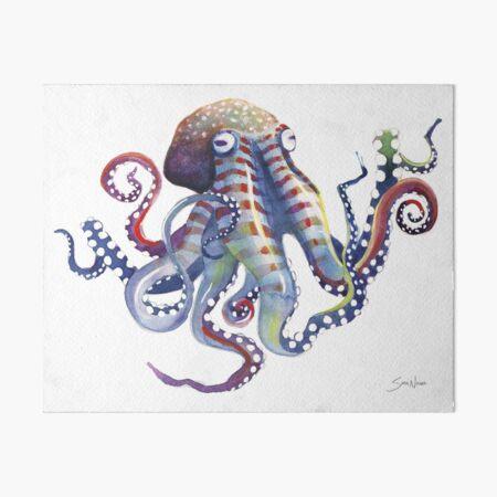 Octopus Art Board Print