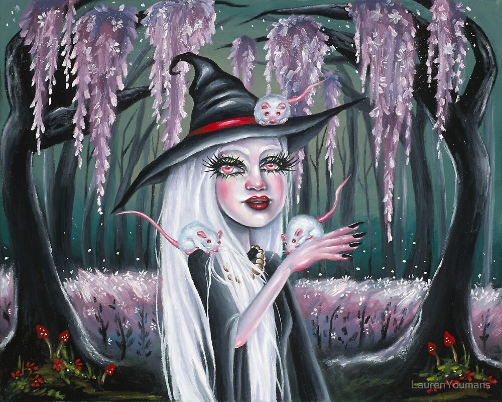 White Witch by LaurenYoumans