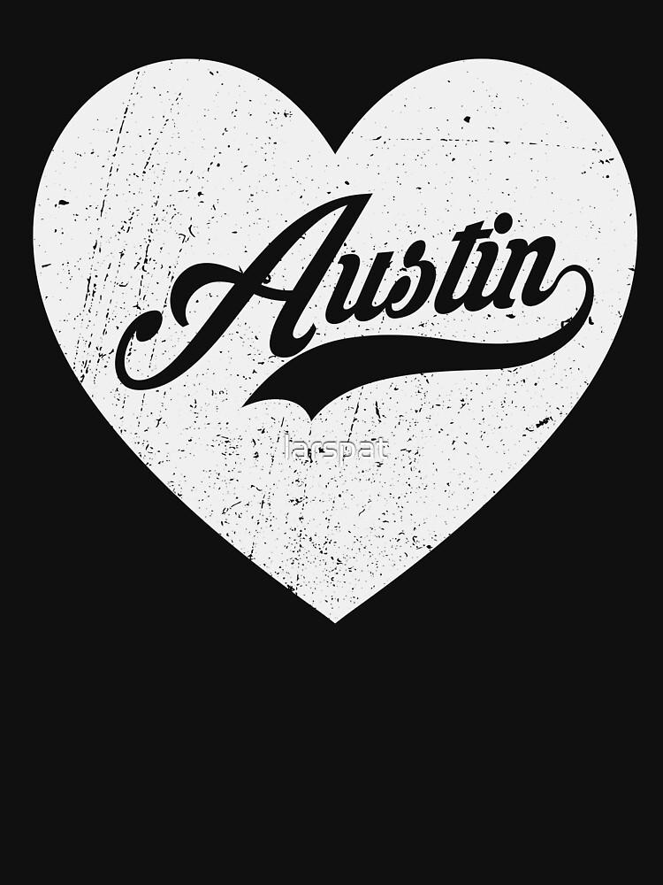 I Love Austin T-Shirt Funny Texas Small Town Bliss Men Women's Tee by larspat