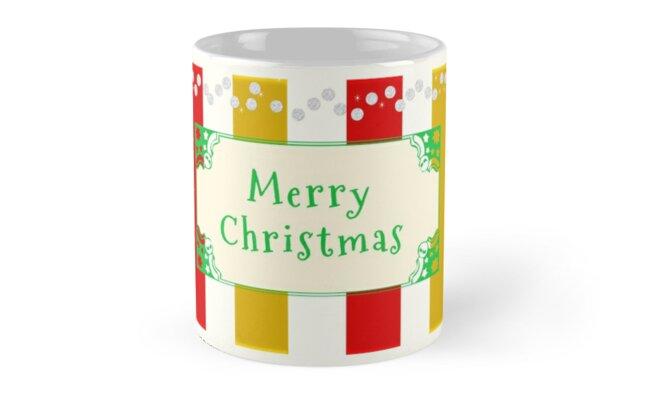 Merry Christmas Antique by Zampadoro