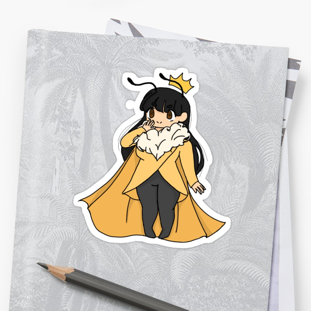 Queen Bumble Bee Girl by ToastKid