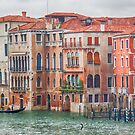 Colourful Houses - Grand Canal - Venice by Yannik Hay