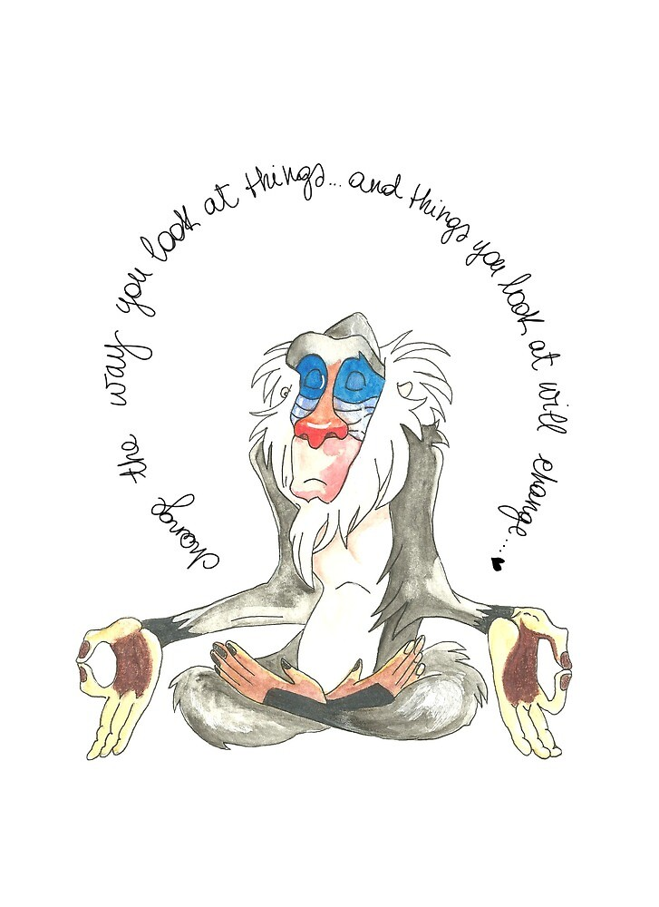 Wise Rafiki by GreenJes