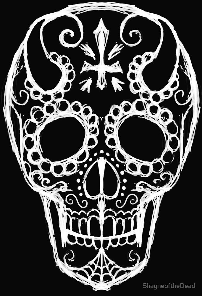 Sugar Skull Devil by ShayneoftheDead
