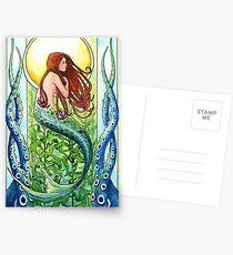Kelp-Waldmeerjungfrau Postkarten