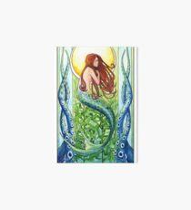 Kelp Forest Mermaid Art Board