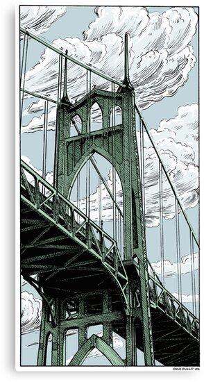 St. Johns Bridge by Geahk