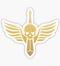 Dark Angels Gold Warhammer 40000 Inspired Sticker