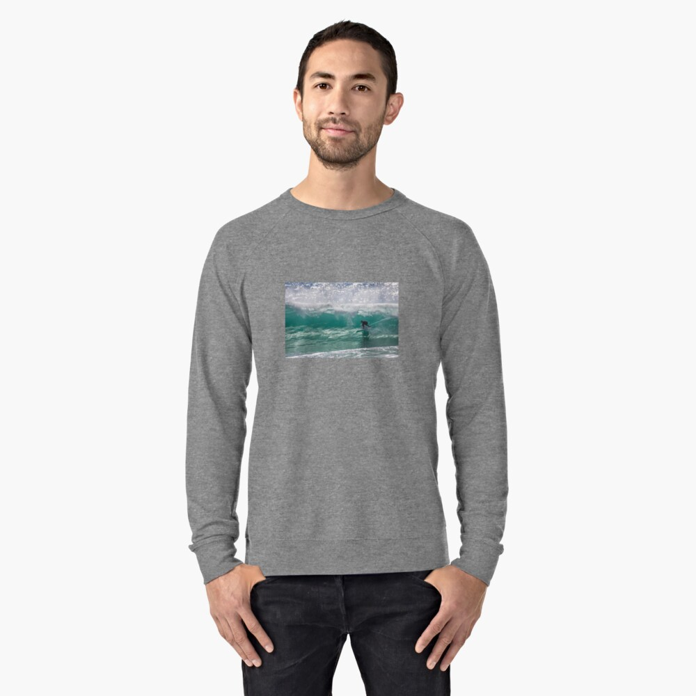 Clean and Clear Lightweight Sweatshirt Front