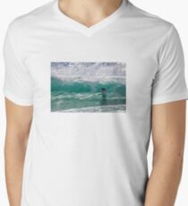 Clean and Clear Men's V-Neck T-Shirt