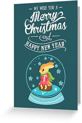 We Wish You Merry Christmas and Happy New Year by crossapple