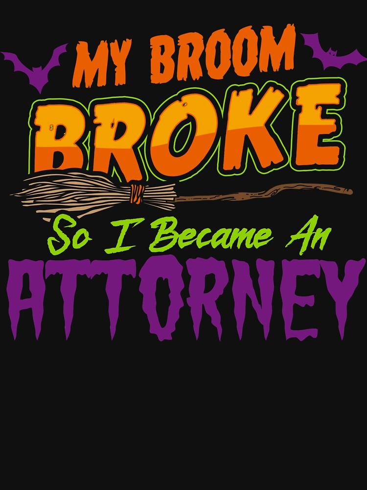 Attorney Haloween funnyshirt by drimel