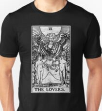 The Lovers Tarot Card - Major Arcana - fortune telling - occult T-Shirt