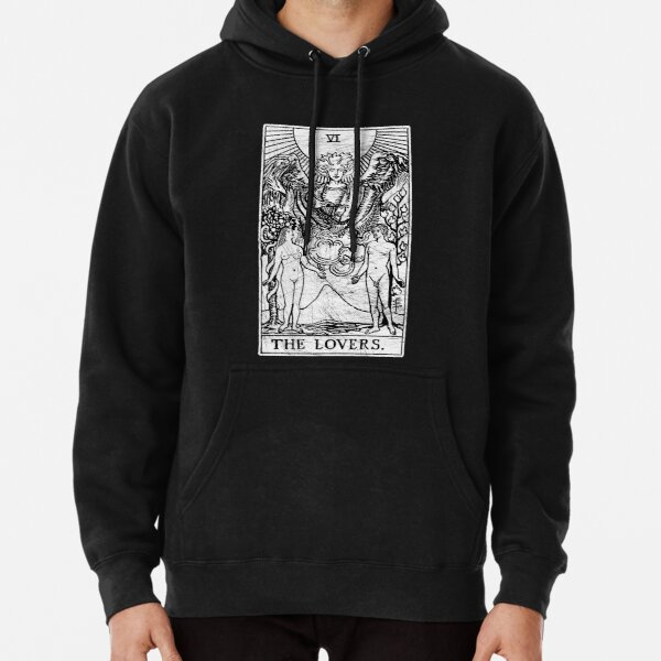 The Lovers Tarot Card - Major Arcana - fortune telling - occult Pullover Hoodie
