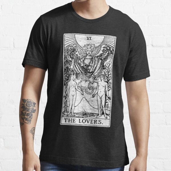 The Lovers Tarot Card - Major Arcana - fortune telling - occult Essential T-Shirt