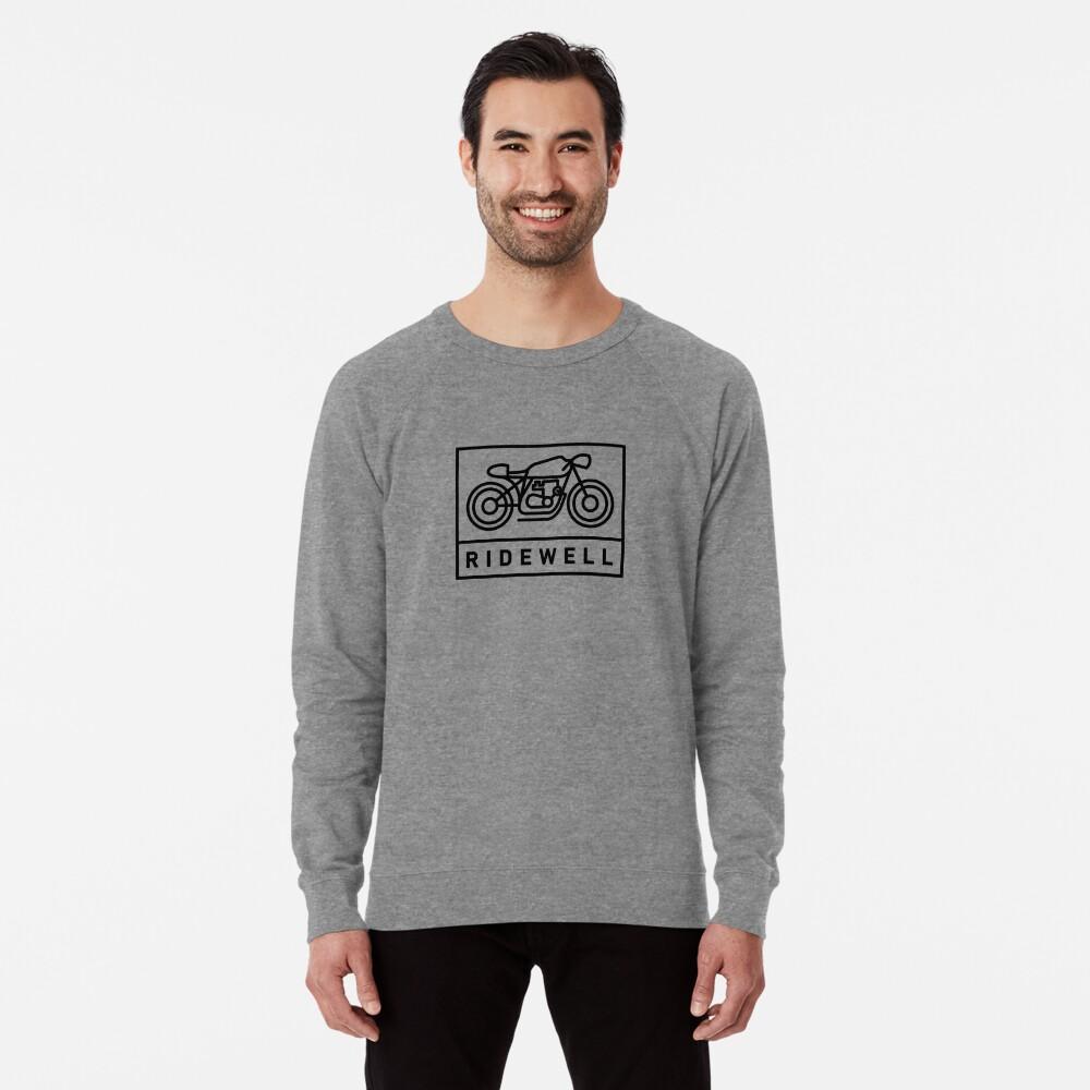 RIDEWELL Logo - Black Lightweight Sweatshirt