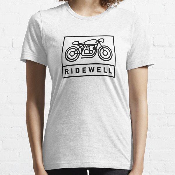 RIDEWELL Logo - Black Essential T-Shirt