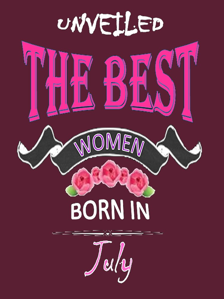 WOMEN BORN IN JULY by FranciscoRui