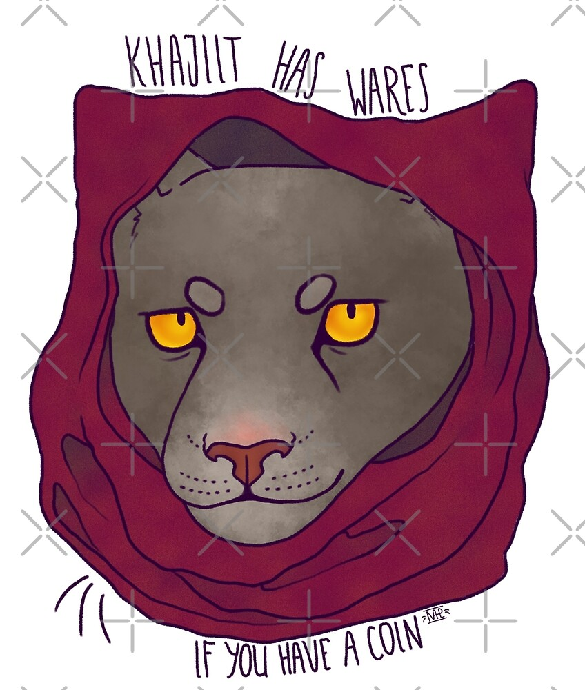 Khajiit has wares if you have a coin #light by zorkowyj